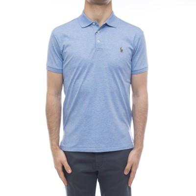ポロシャツ-652578スリムフィット3ボタンポロシャツ