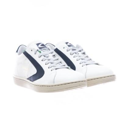 靴-トーナメントナッパマンホワイトブルー