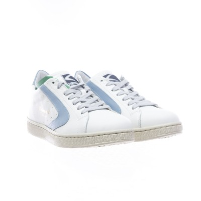 靴-トーナメントナッパ女性白/空
