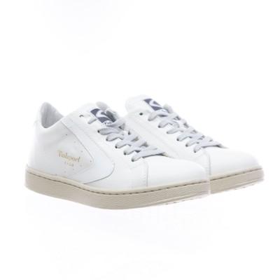 靴-トーナメントナッパ女性白/白