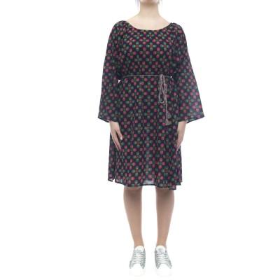 ドレス-9509特大コットンドレス
