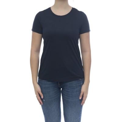 女性用Tシャツ-1162mcミルクファイバーTシャツ