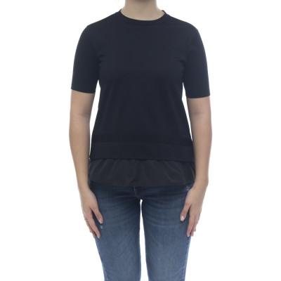 女性用セーター-ナイロンディテールのJg0006520...