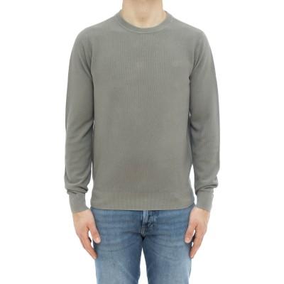 セーター-K31118ウォッシュドハニカムセーター
