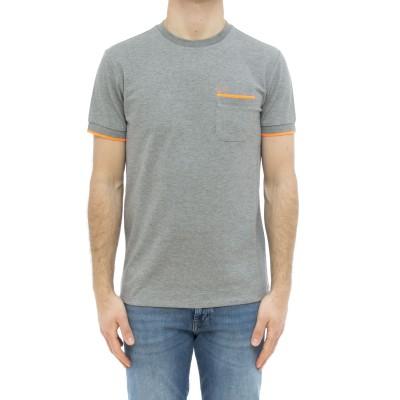 Tシャツ-T31115fluoボーダーTシャツ