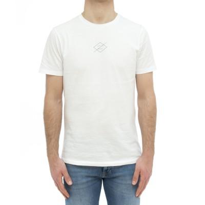 T-shirt - Crew neck white...