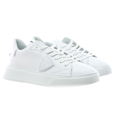 Shoe - Btlu temple all white
