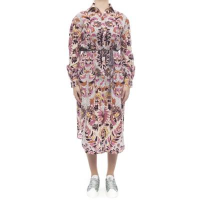 Kleid - Langes Hemdkleid 9402