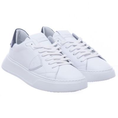 靴-Btluテンプルホワイトブラック