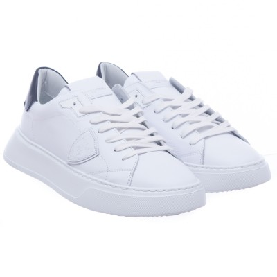 Shoe - Btlu temple white black