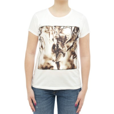 Damen T-Shirt - Icon Sw Koala
