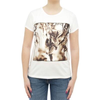 女性用Tシャツ-アイコンswコアラ