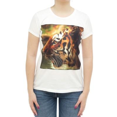 女性用Tシャツ-Iconsw tiger