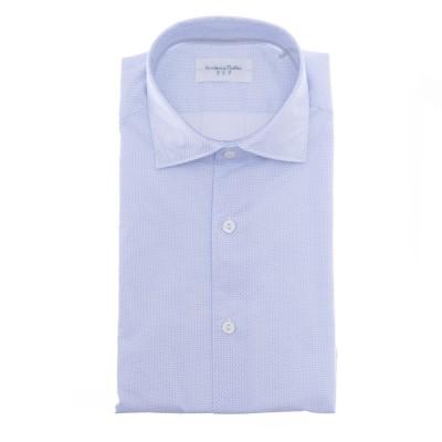 マンシャツ-Njwu55プリントコットン