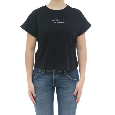 Damen T-Shirt - Crop T-Shirt