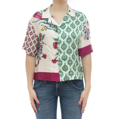 Camicia - Patch shirt camicia