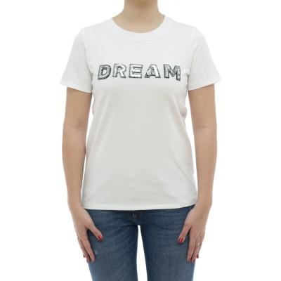 女性用Tシャツ-T31202ペイエットTシャツ