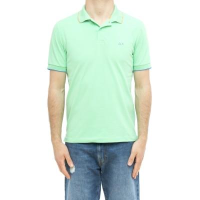 ポロシャツ-A31110ストライプポロシャツ