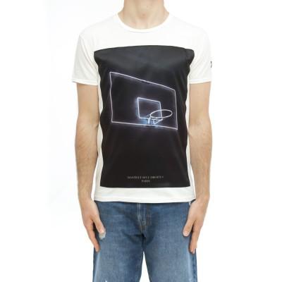 メンズTシャツ-アイコンsmネオン