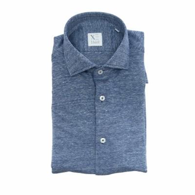 マンシャツ-81466j748ジャージーシャツ50%ベ...
