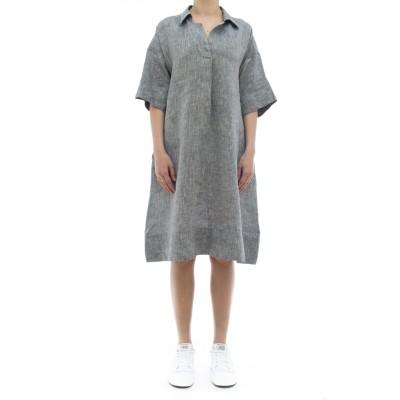 ドレス-キャロル85112リネンドレス