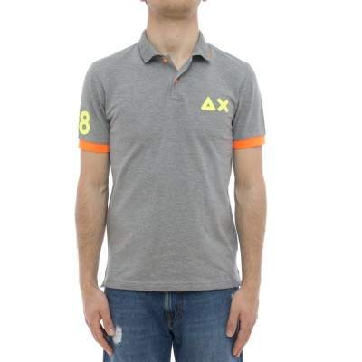 Polo shirt - A31120 maxi fluo