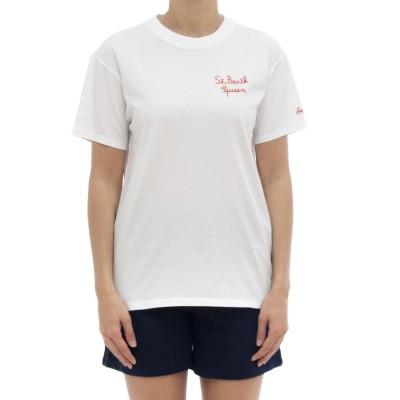 女性用Tシャツ-エミリー刺繡Tシャツ