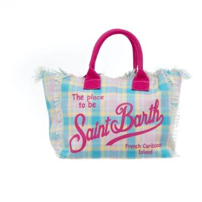 Bag - Vanity summer tartan...