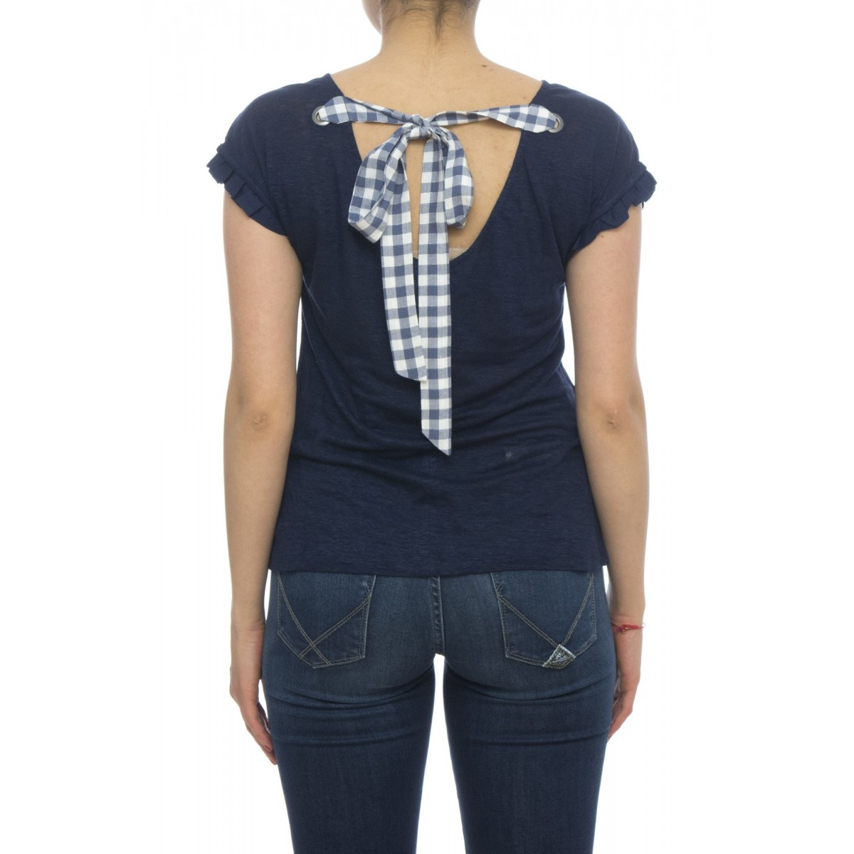 T-shirt - Eoghan t-shirt lino fiocco