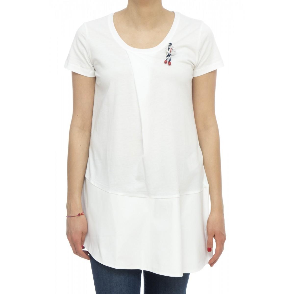 T-shirt - River t-shirt ampia