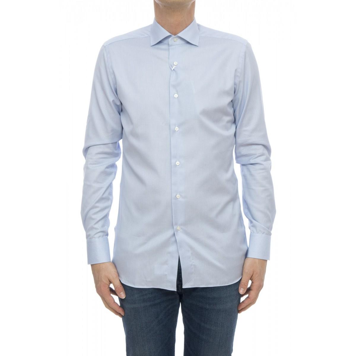 Camicia - 558 11313 camicia no stiro microdisegno