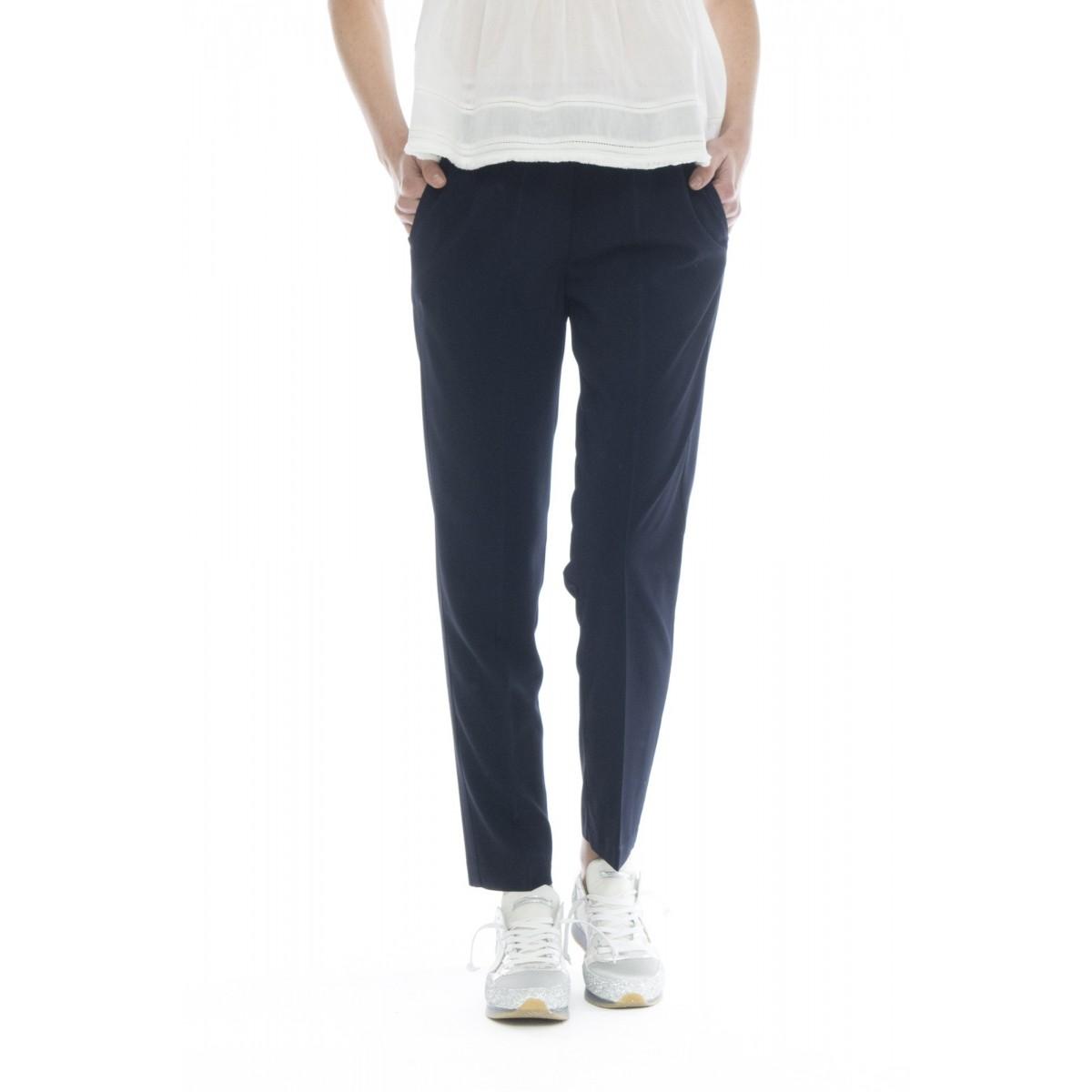 Pantalone donna - J4101 pantalone elastico sigaretta