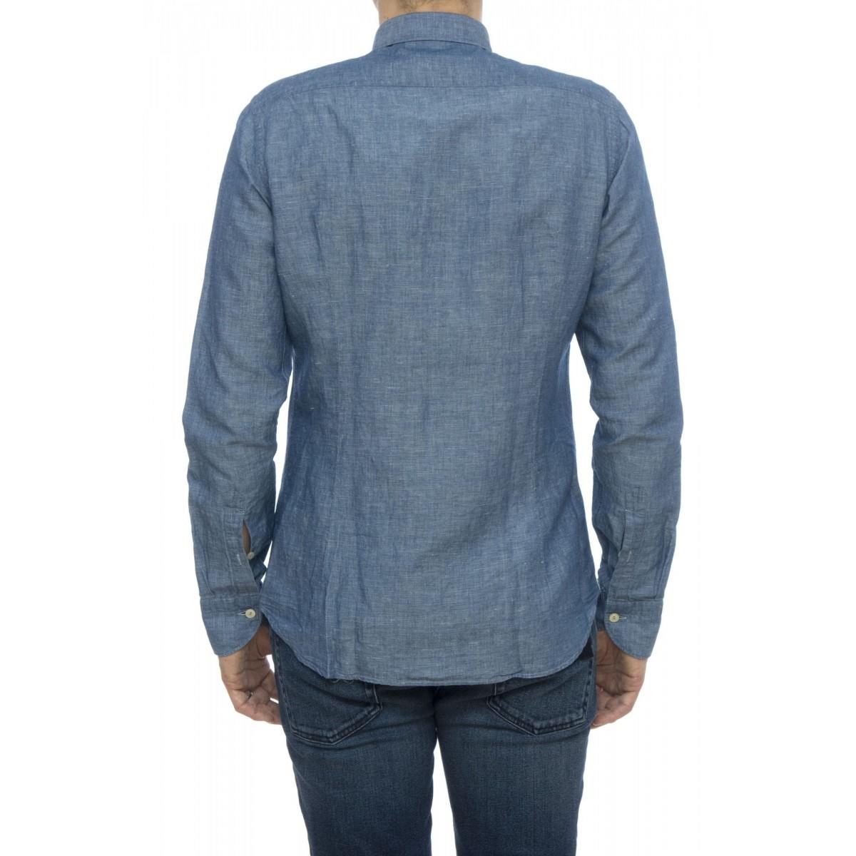 Camicia - T9h nyb chambreit cotone lino