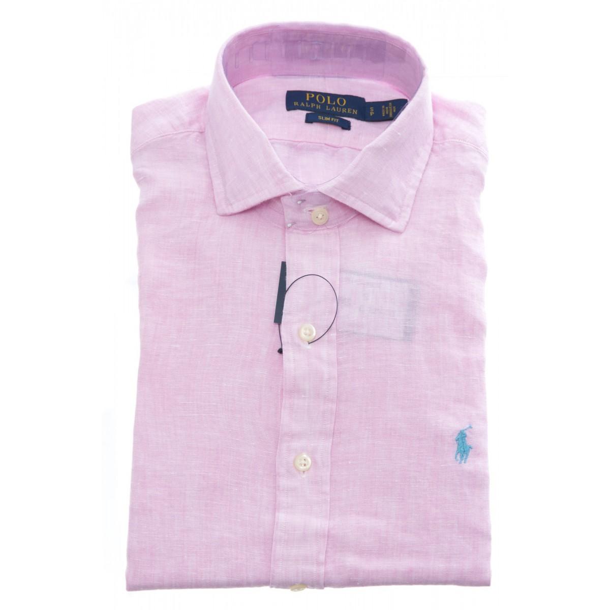 Camicia - 710695930 lino slim fit