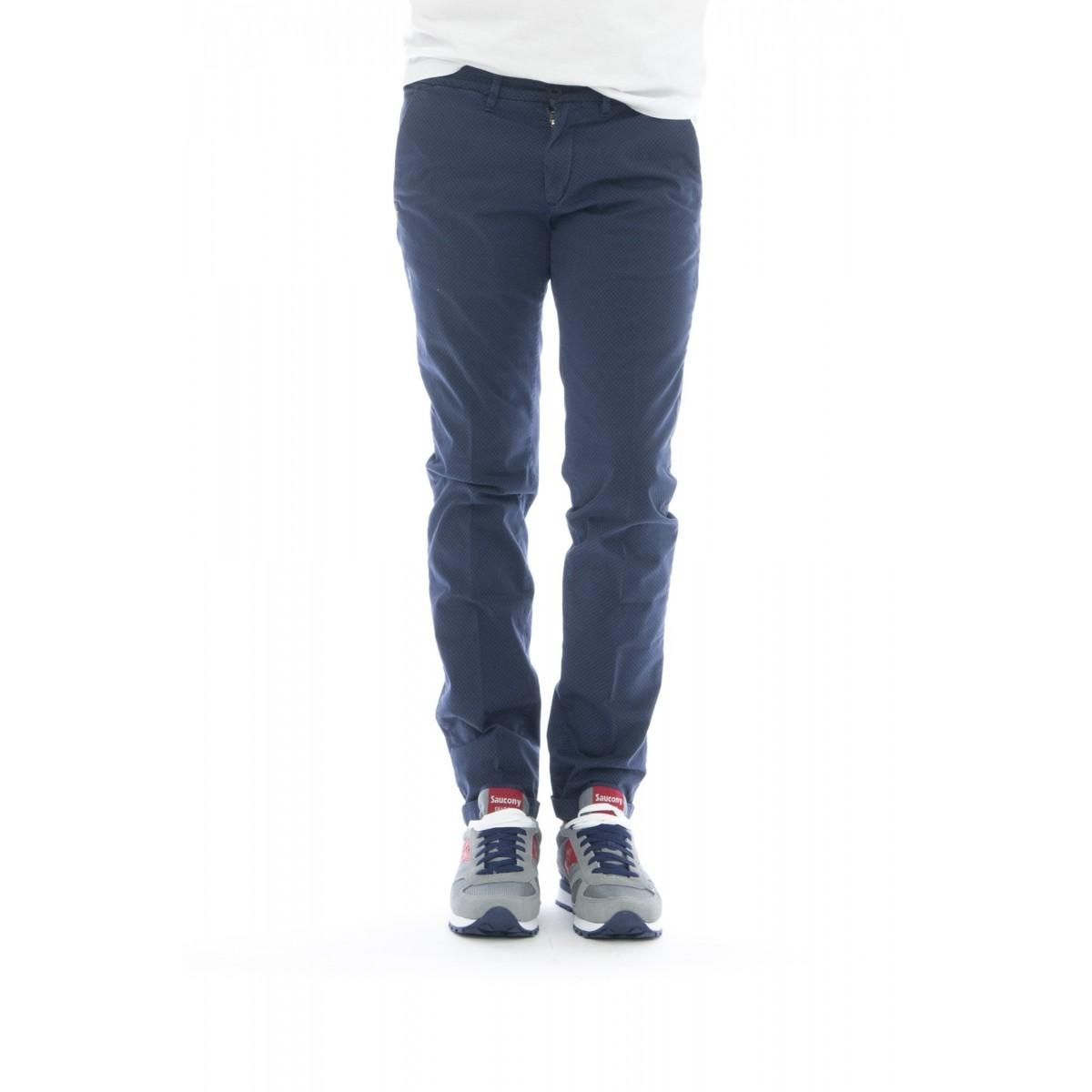 Pantalone uomo - Lenny 1121 micro fantasia vichy