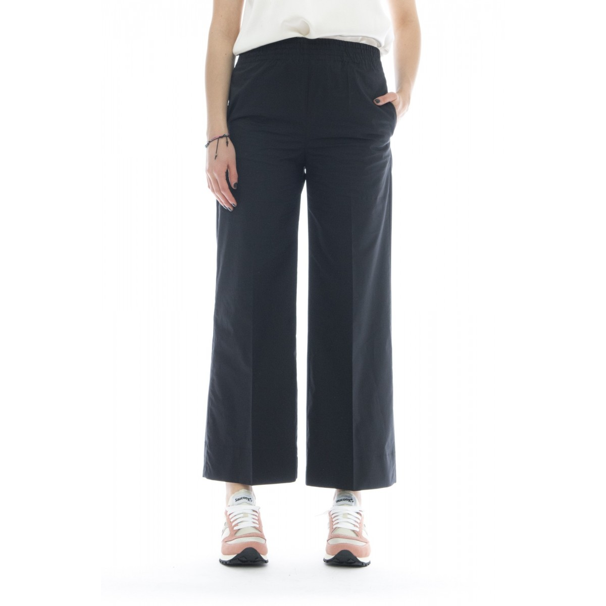 Pantalone donna - J4033 pantalone cotone