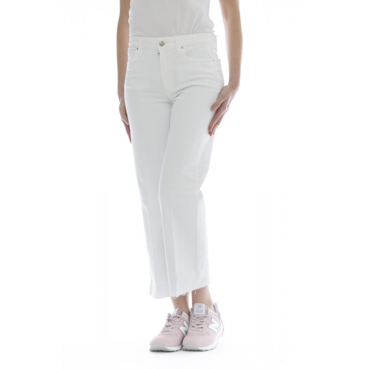 Jeans - The wyatt hr crop gamba larga dritto