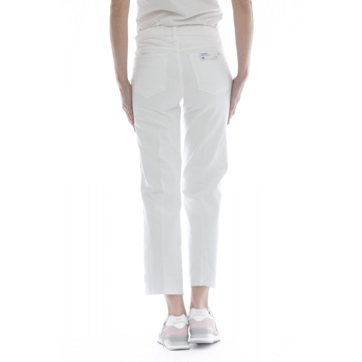 Jeans - The wyatt hr crop gamba larga dritto