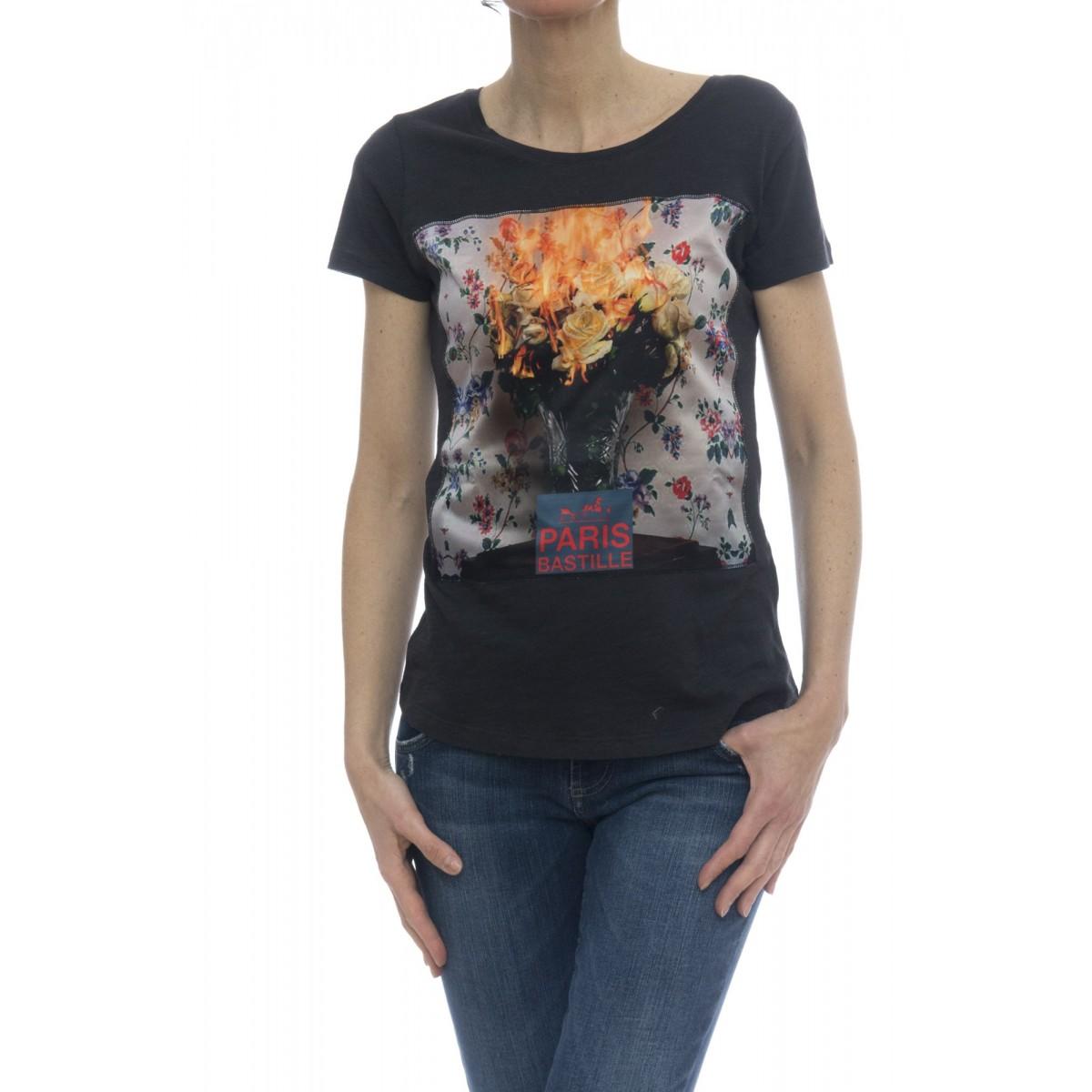 T-shirt - Savage seta black