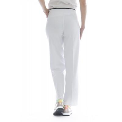 Pantalone donna - F18219 pantalone tuta largo