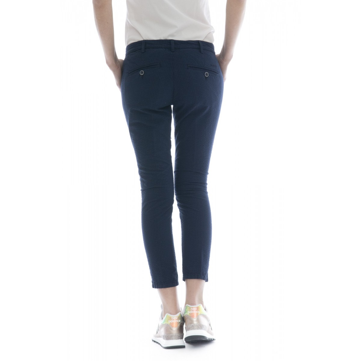 Pantalone donna - Melitas 1202 micro vichy