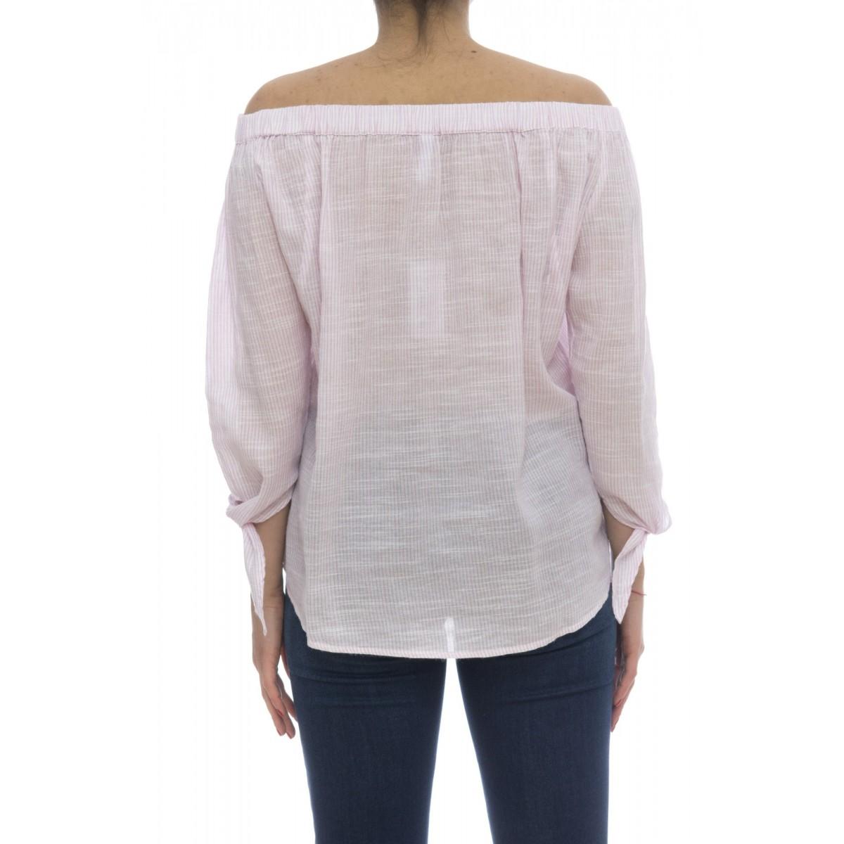 Camicia donna - S18214 camicia righina