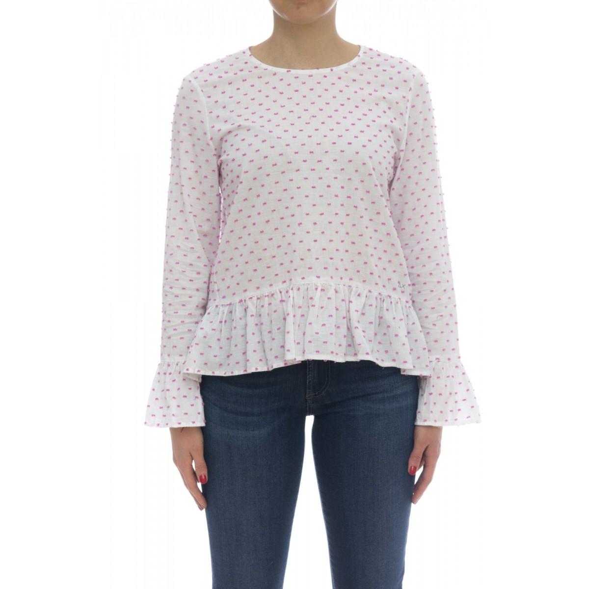 Camicia donna - S18215 camicia manica lunga