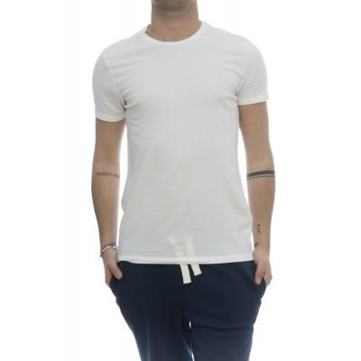 T-shirt - 001 07 t-shirt girocollo crep di cotone