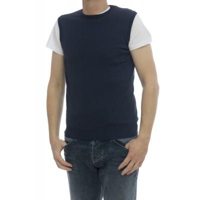 Maglia uomo - 5011/20 gilet cotone