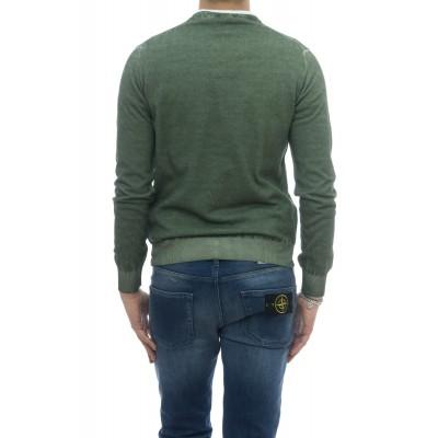 Maglia - 1481351 maglia scollo v lavato a freddo
