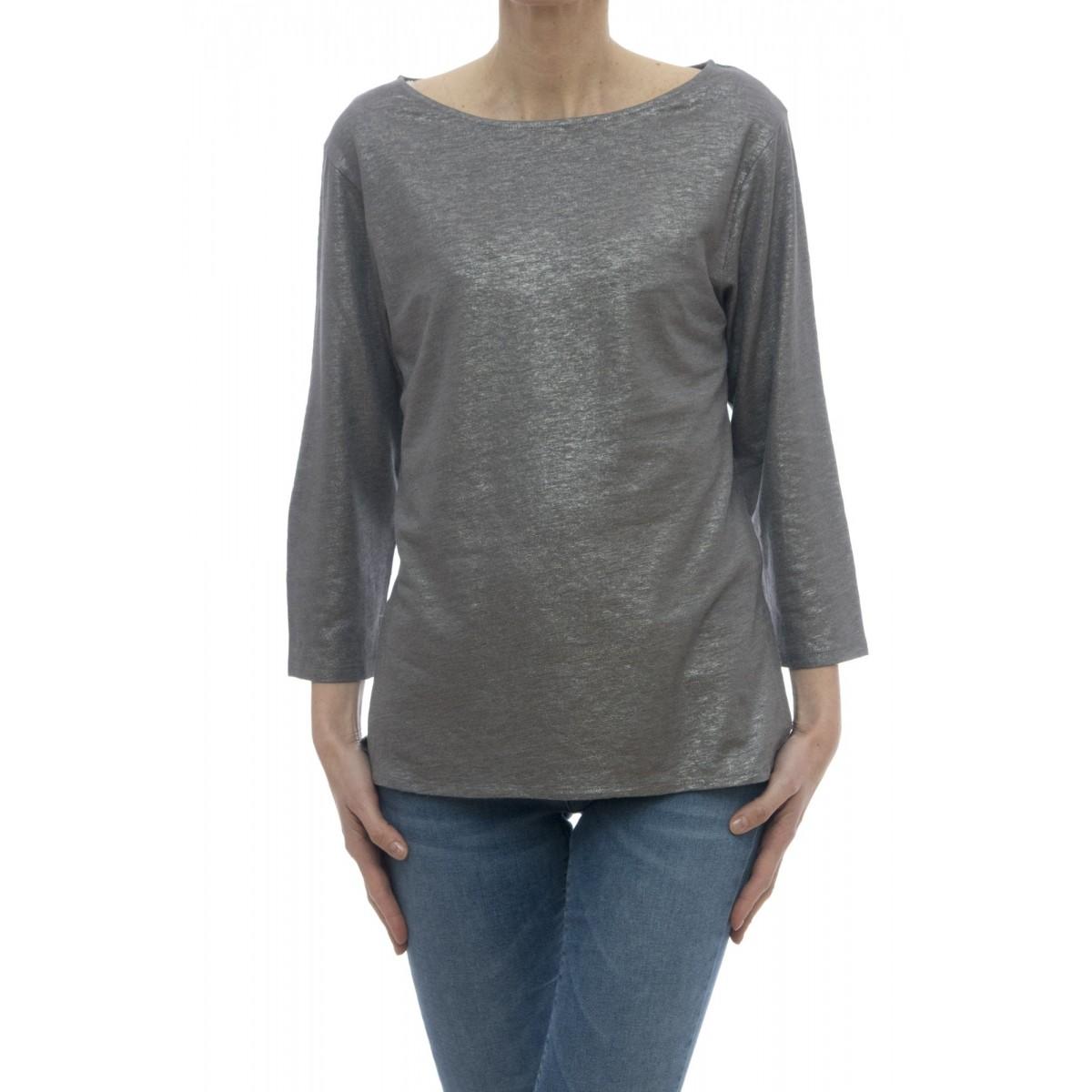 T-shirt - E09 08 lino seta elastane
