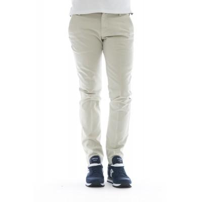 Pantalone uomo - 8201 292l17 gabardina strech lavata