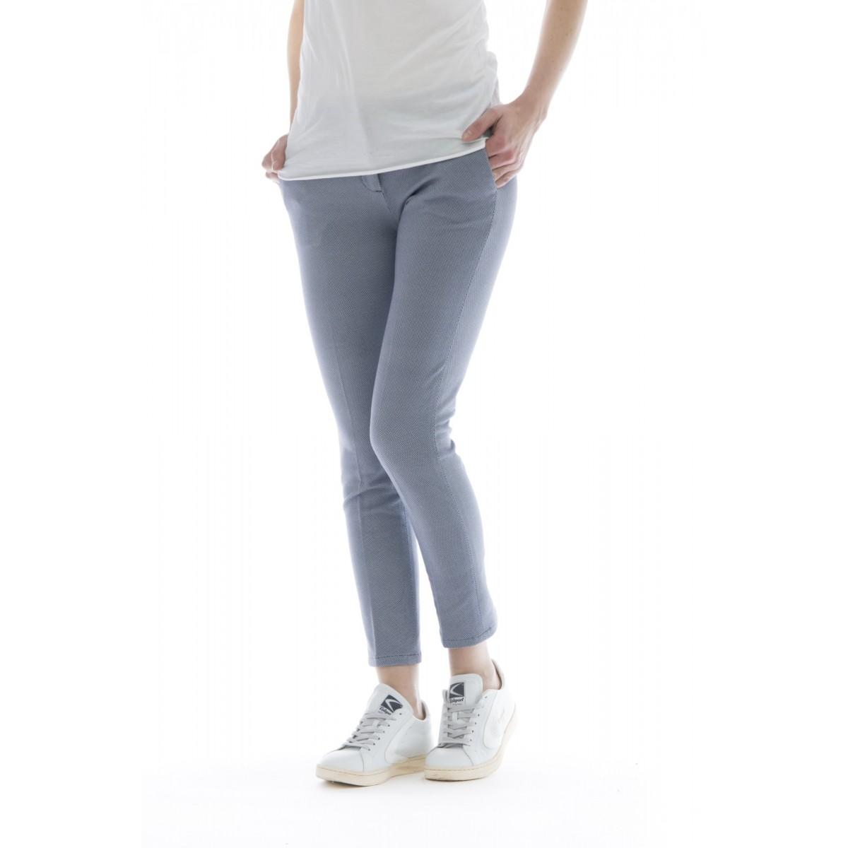 Pantalone donna - Fd1079 pantalone jersey stampato