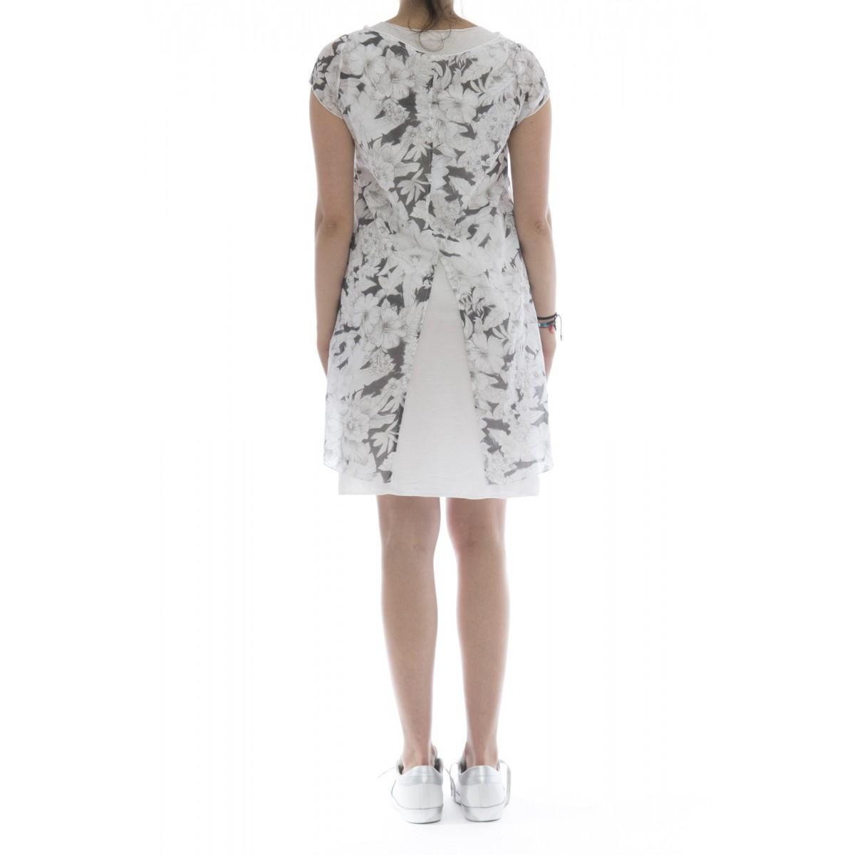 Vestito - 18017 vestito cotone stampato